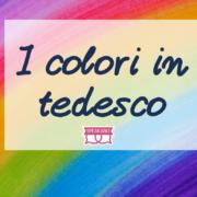 i colori in tedesco
