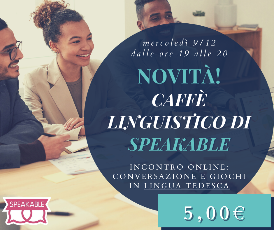 Conversazione in tedesco online: Il Caffè linguistico di Speakable