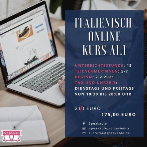 Italienisch Online Kurs