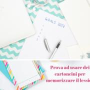 Carta e cartoncino per memorizzare meglio