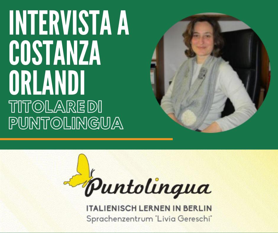 Costanza Orlandi si racconta: intervista alla titolare di Puntolingua